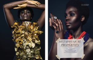 Kate Mensah necklaces, Foster Merritt rings